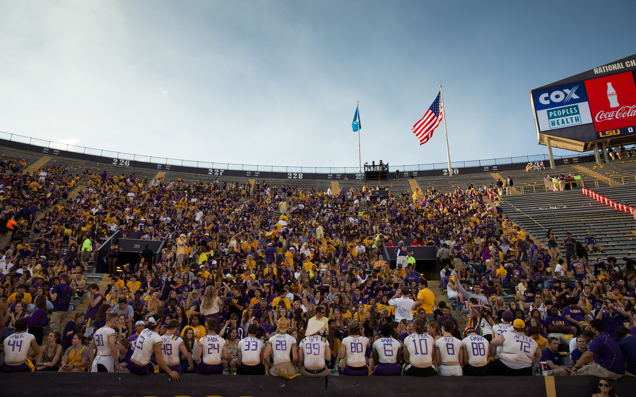 One Day, One Game -- LSU vs. Alabama