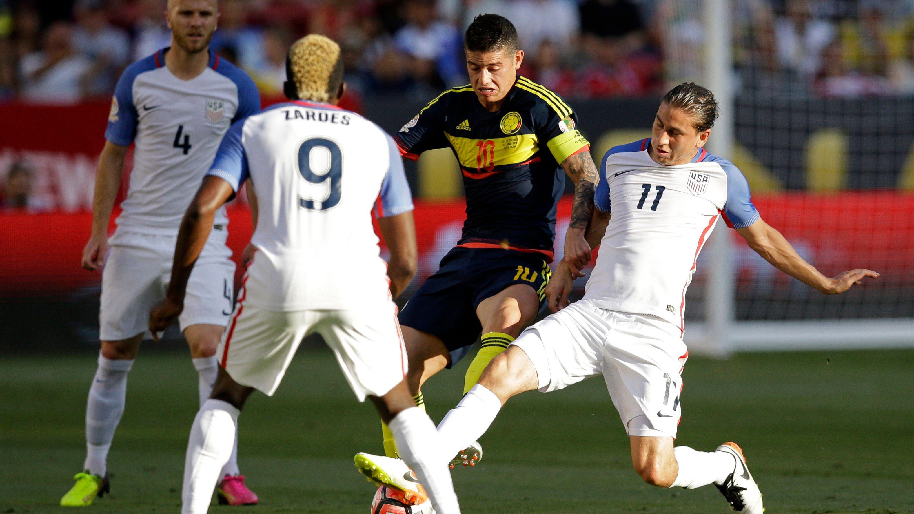 Las tres claves del duelo Estados Unidos contra Colombia