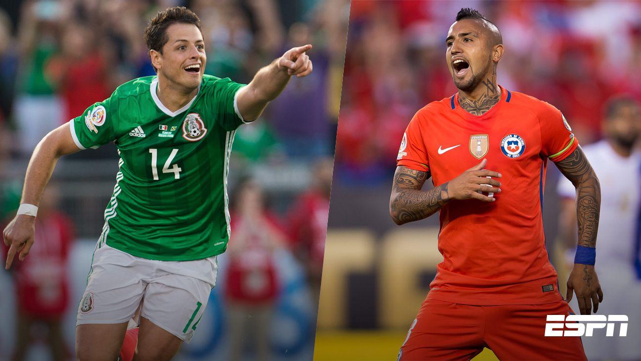México presume números positivos ante Chile, rival en 4tos. de final
