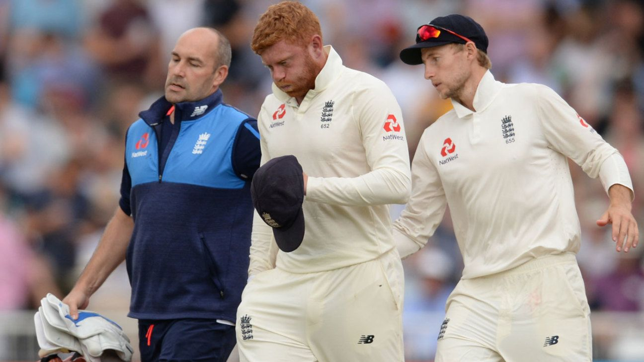 Bairstow suffers 'small fracture' to finger - ESPNcricinfo