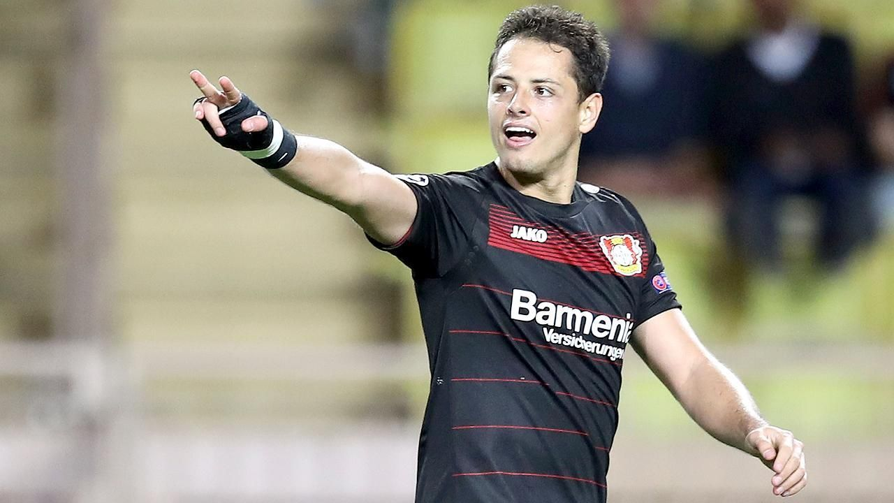 As 237 marc 243 chicharito su gol 100 en europa espn video