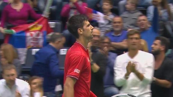 Djokovic aumentó la diferencia - ESPN Video
