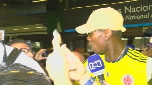 Pogba llegó a Medellín...¡Con la camiseta de Colombia ...