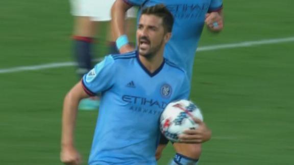 GOL: New York City 1 (Villa 77') New England 1 - ESPN Video