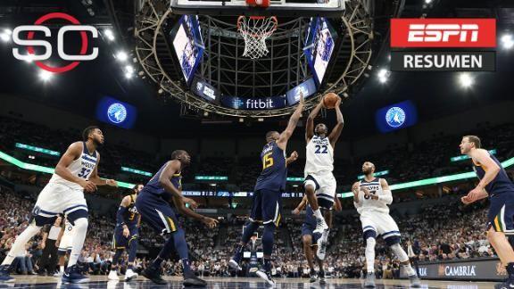 Con cierre rompecorazones, Timberwolves mejores que Jazz - ESPN Video