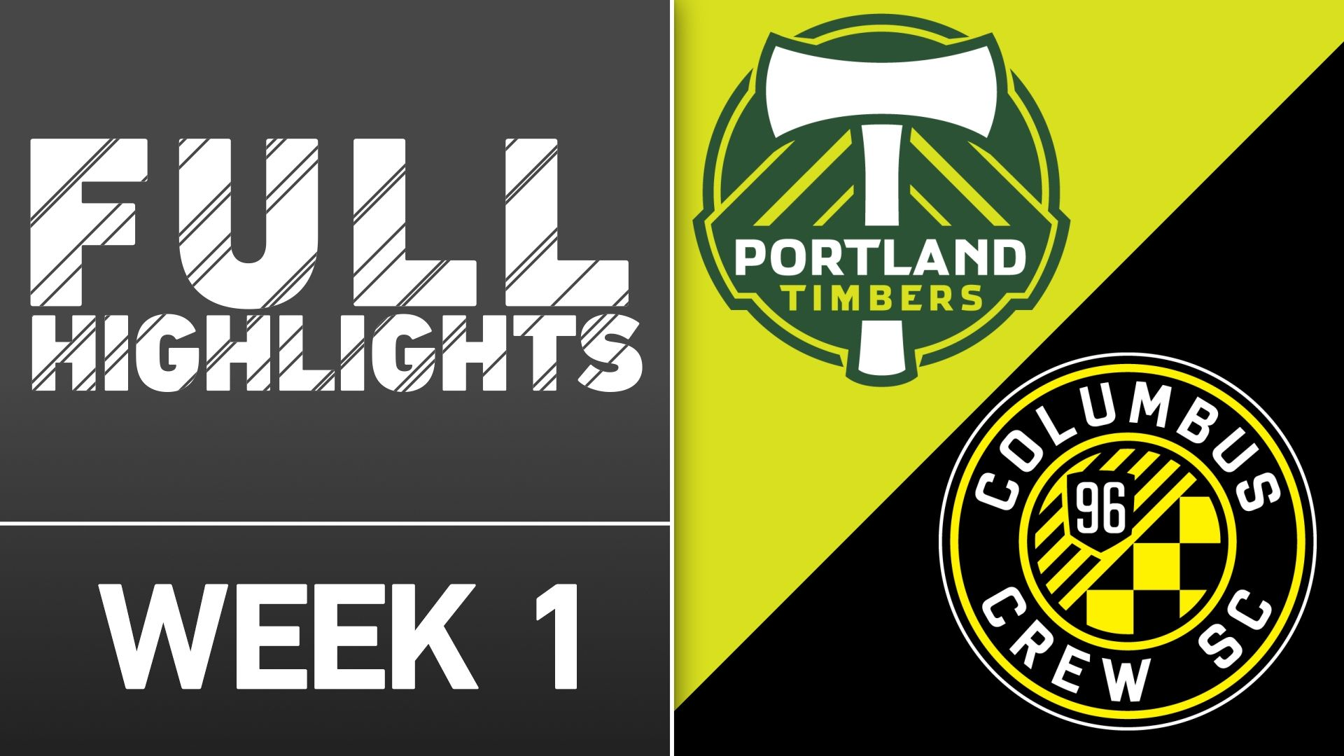 Video via MLS: Portland Timbers vs. Columbus Crew SC | March 6, 2016 - ESPN Video