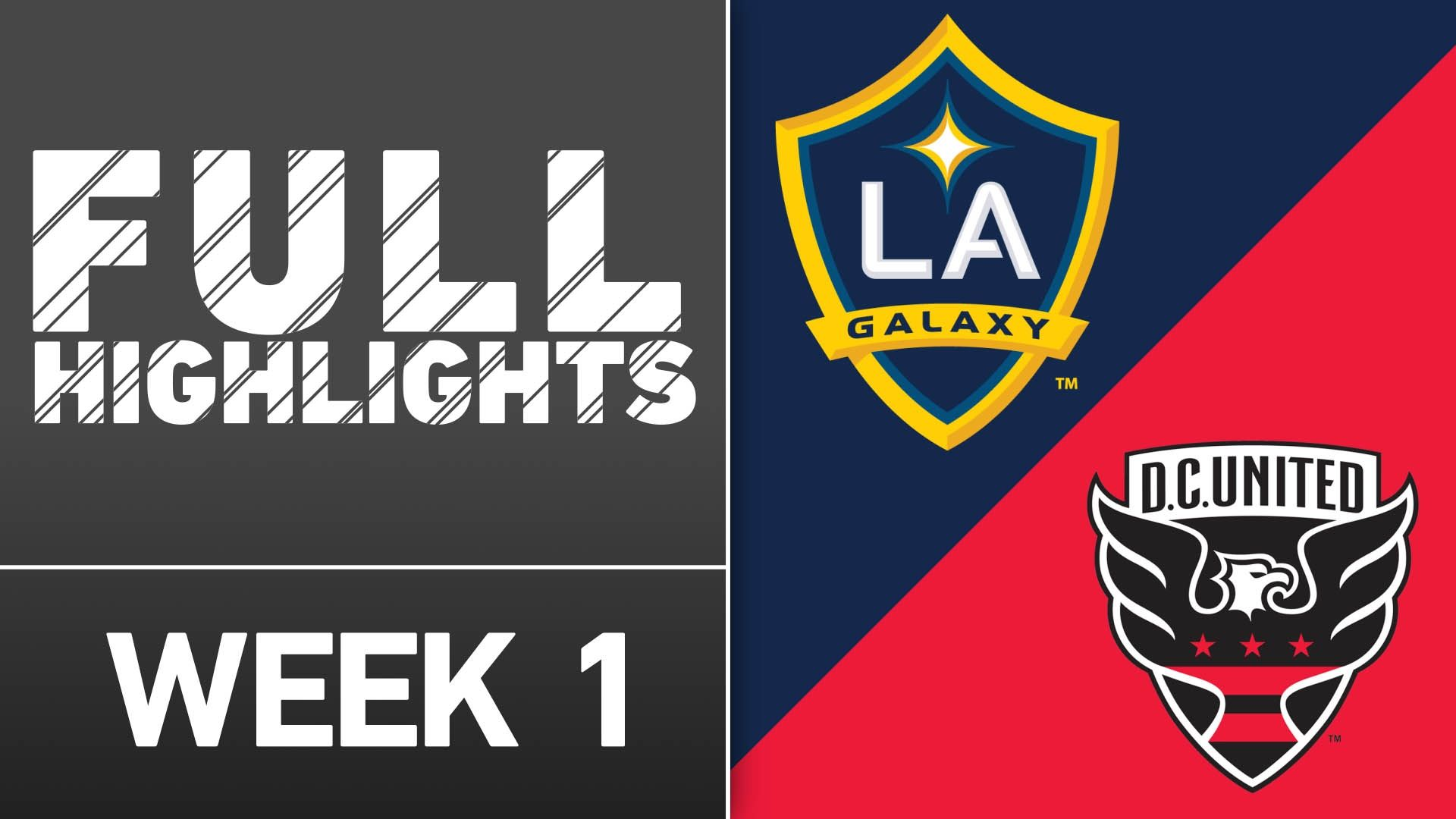 Video via MLS: LA Galaxy vs. DC United | March 6, 2016 - ESPN Video