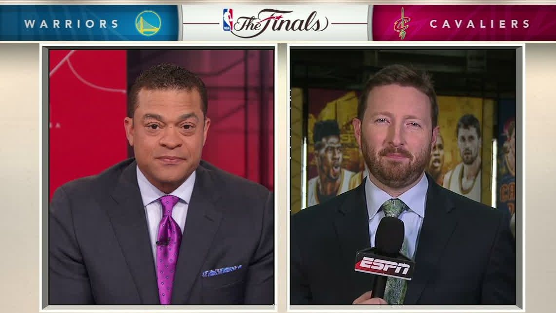 2016 NBA Finals -- Shaquille O'Neal says Cleveland Cavaliers need more from Kyrie Irving, Kevin Love