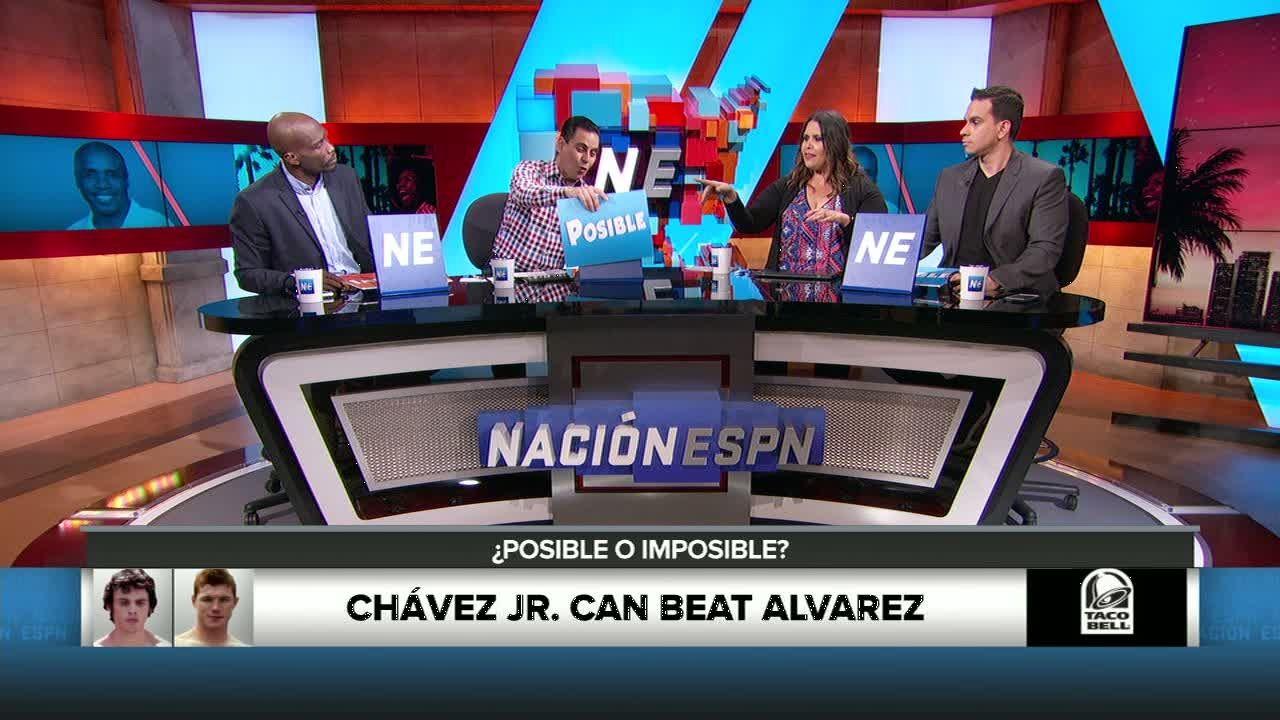 Cesar Chavez Jr. has tough task against Alvarez - ESPN Video