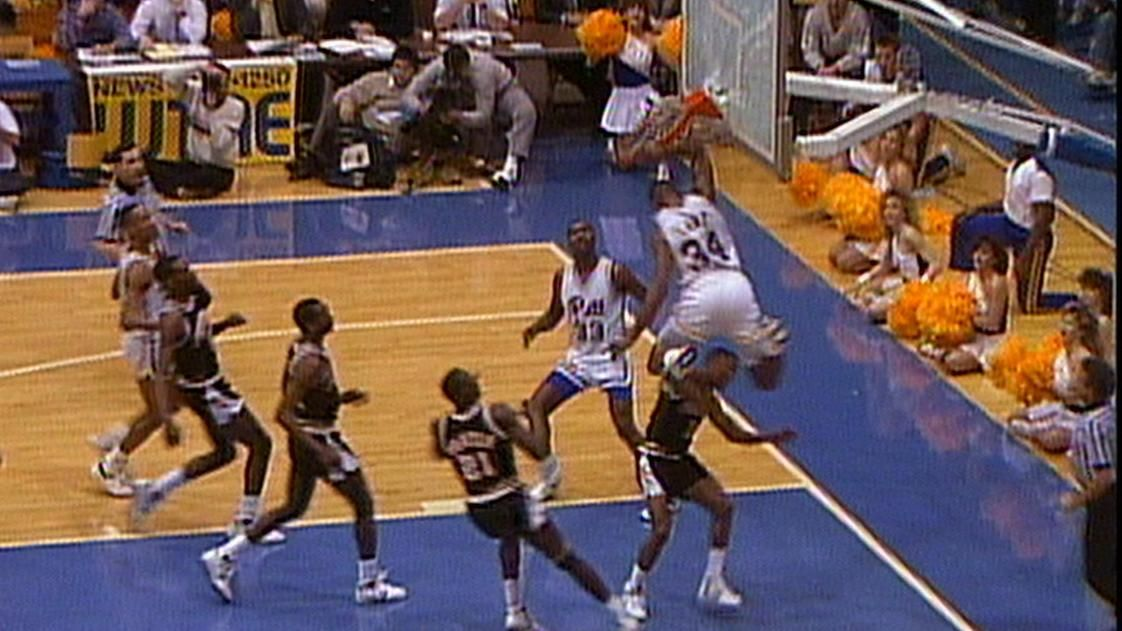 Looking back on Jerome Lane's backboard-shattering dunk ...