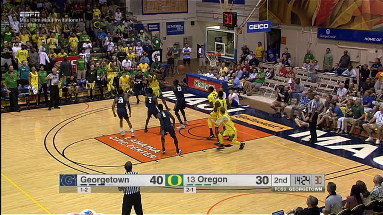 Bell's monster slam has Oregon storming back - ESPN Video