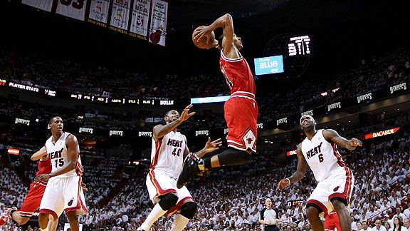 NBA - Derrick Rose is the most athletic point guard