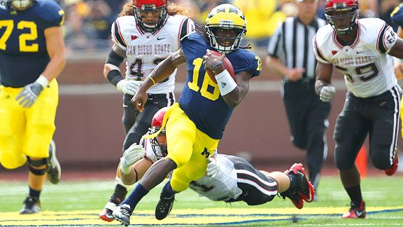 NCF - Denard Robinson is writing his own chapter in ...