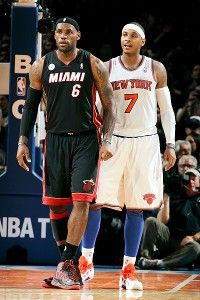 Lakers eyeing Melo, LeBron