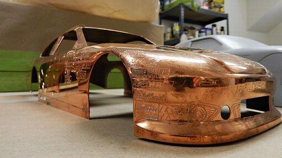 Nascar Goodyear Gold Car Sets The Standard