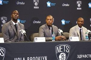 New Nets have championship dreams