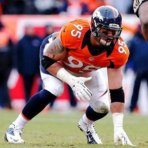 Derek Wolfe ruled out vs. Chiefs