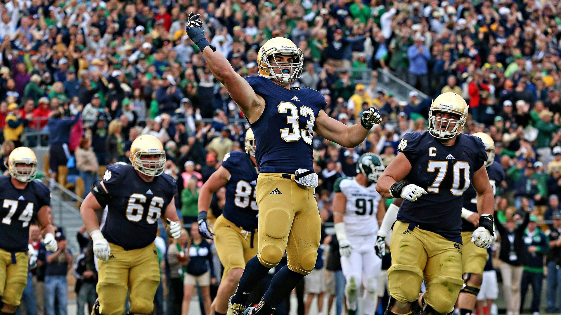 Notre Dame Fighting Irish replacements for NFL early entrants - Notre Dame Fighting Irish- ESPN