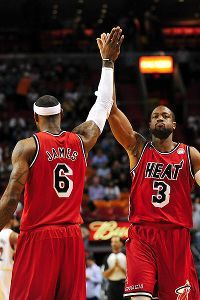 LeBron to D-Wade: Brothers for life