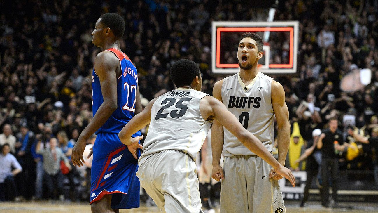 Colorado Buffaloes stun Kansas Jayhawks on 3 at buzzer ...