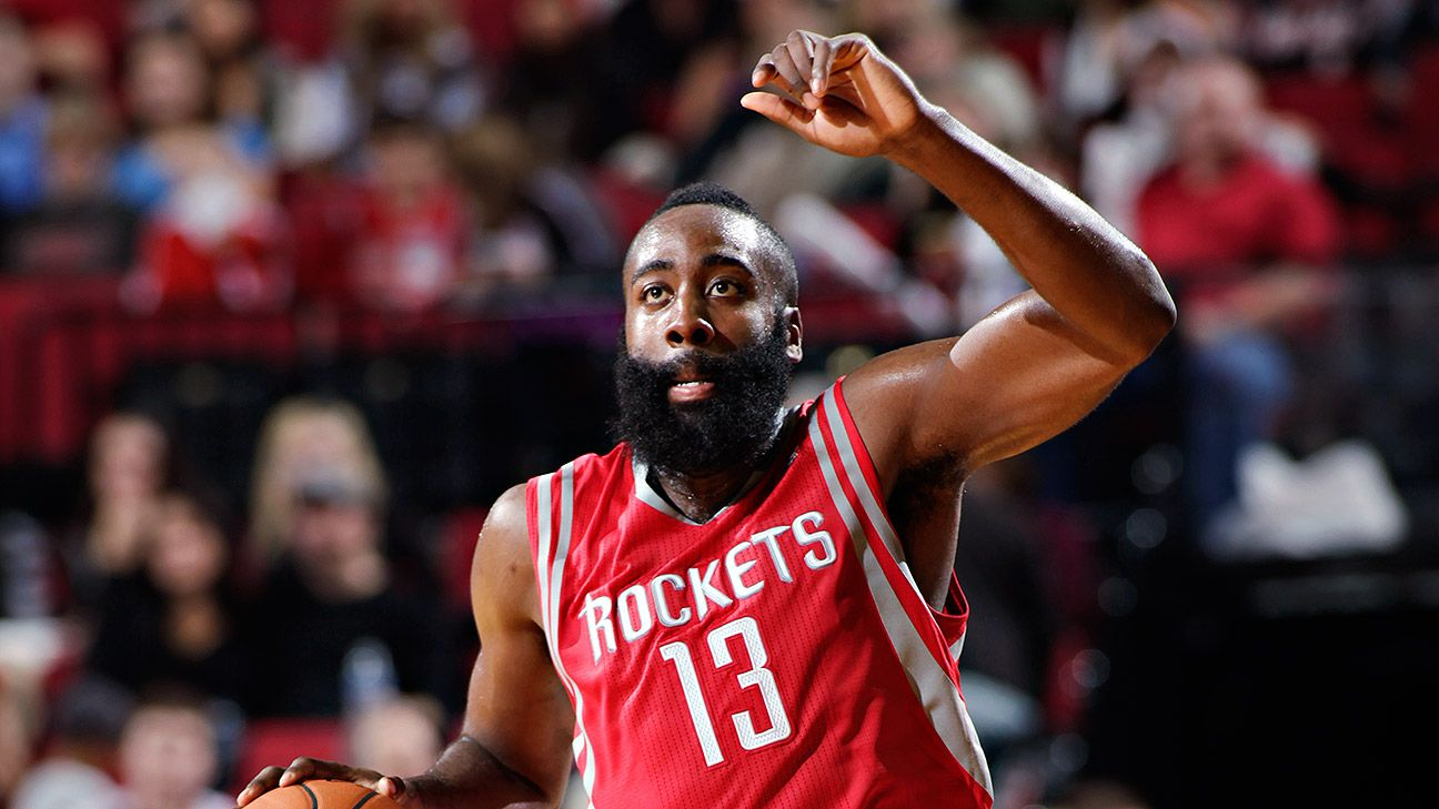 James Harden becomes full-time point guard for Houston Rockets