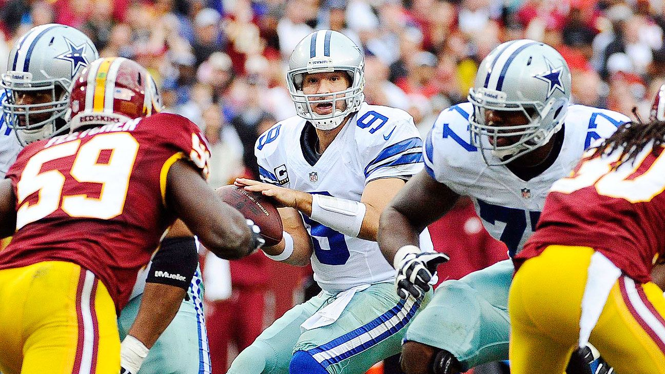 Tony Romo out for rest of season