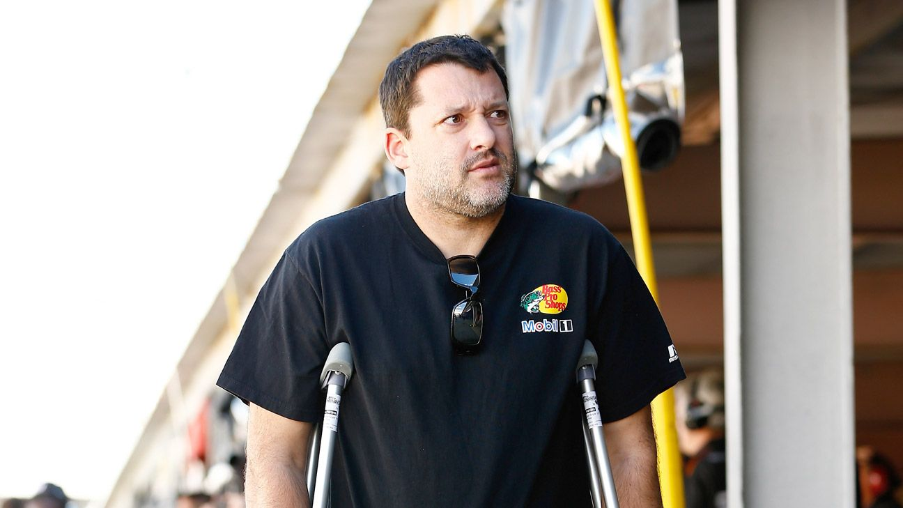 Anxious times for Tony Stewart