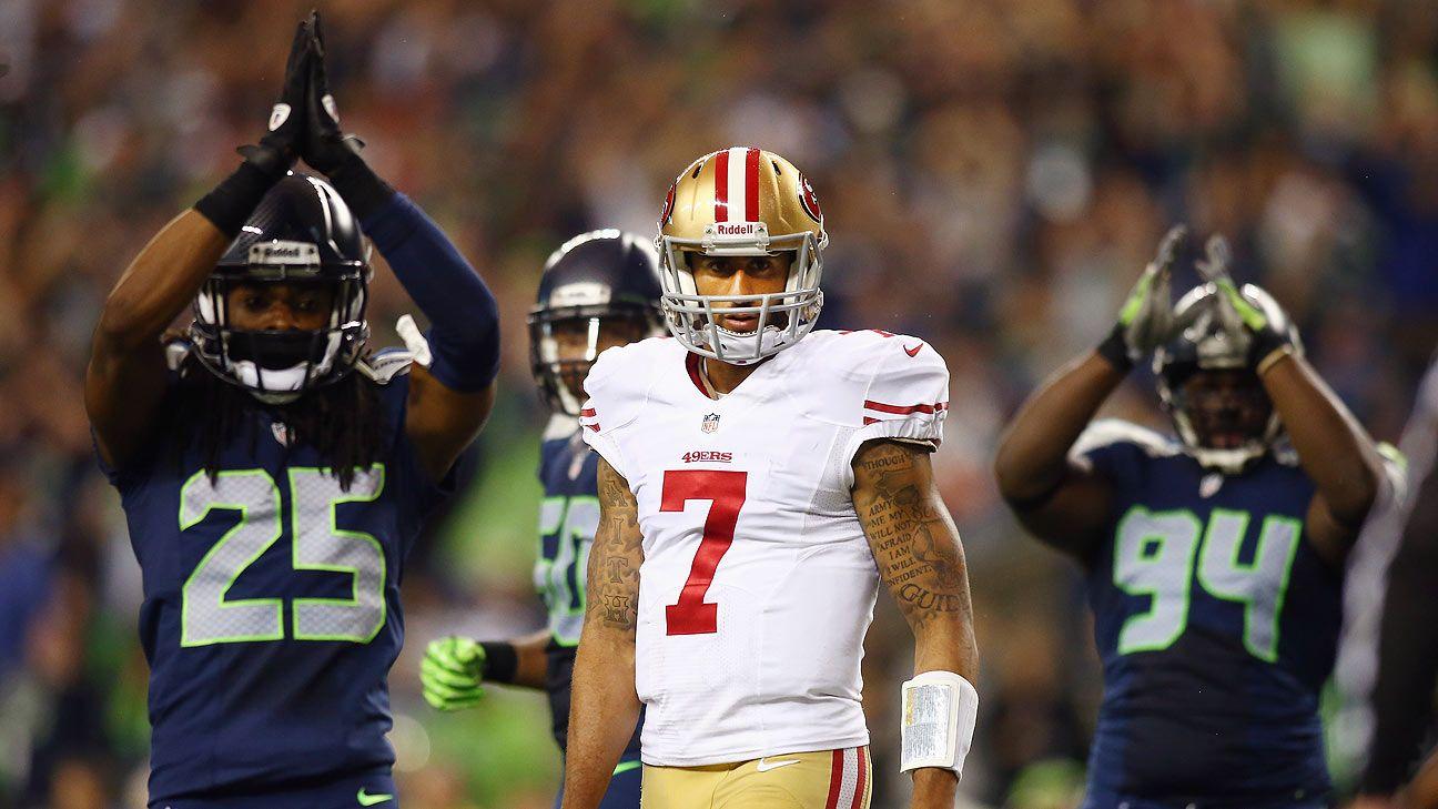 Richard Sherman of Seattle Seahawks thinks Colin Kaepernick being blackballed