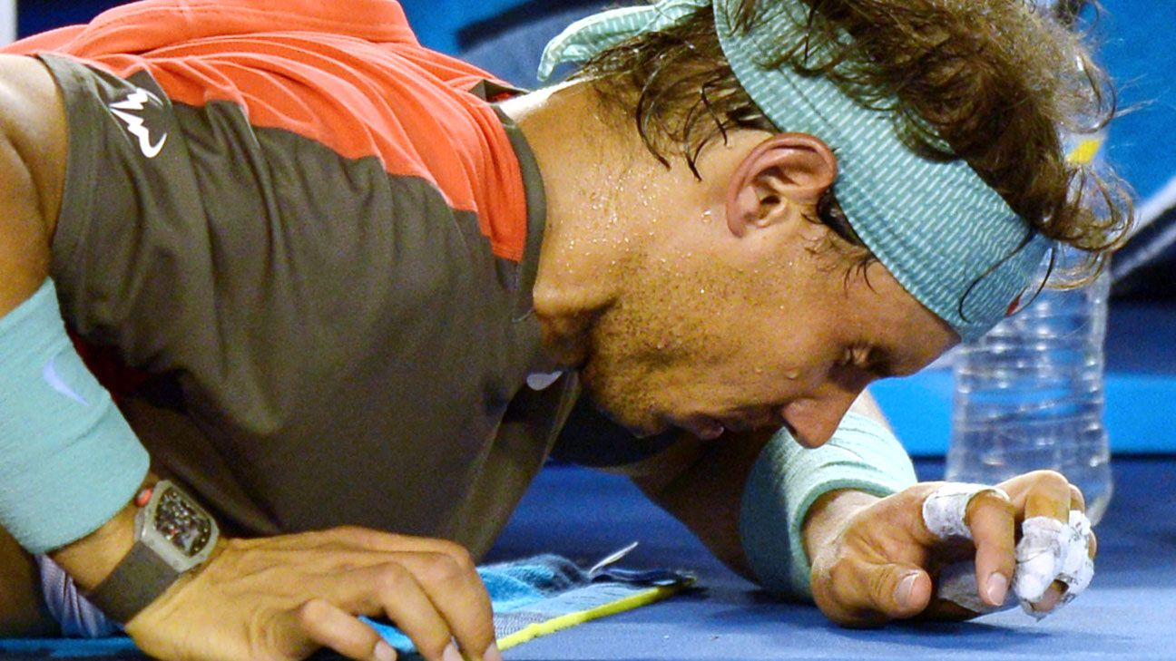 Rafael Nadal's back doing well