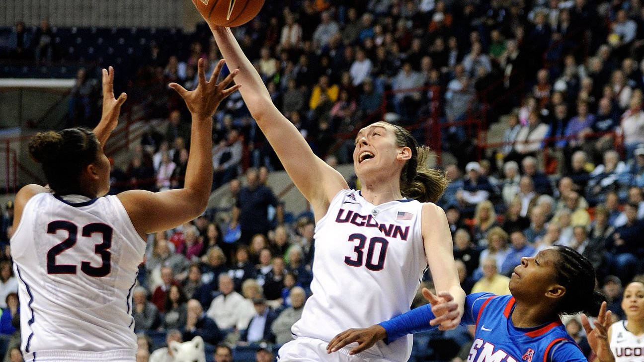 Counting down the top 25 women's college basketball ...