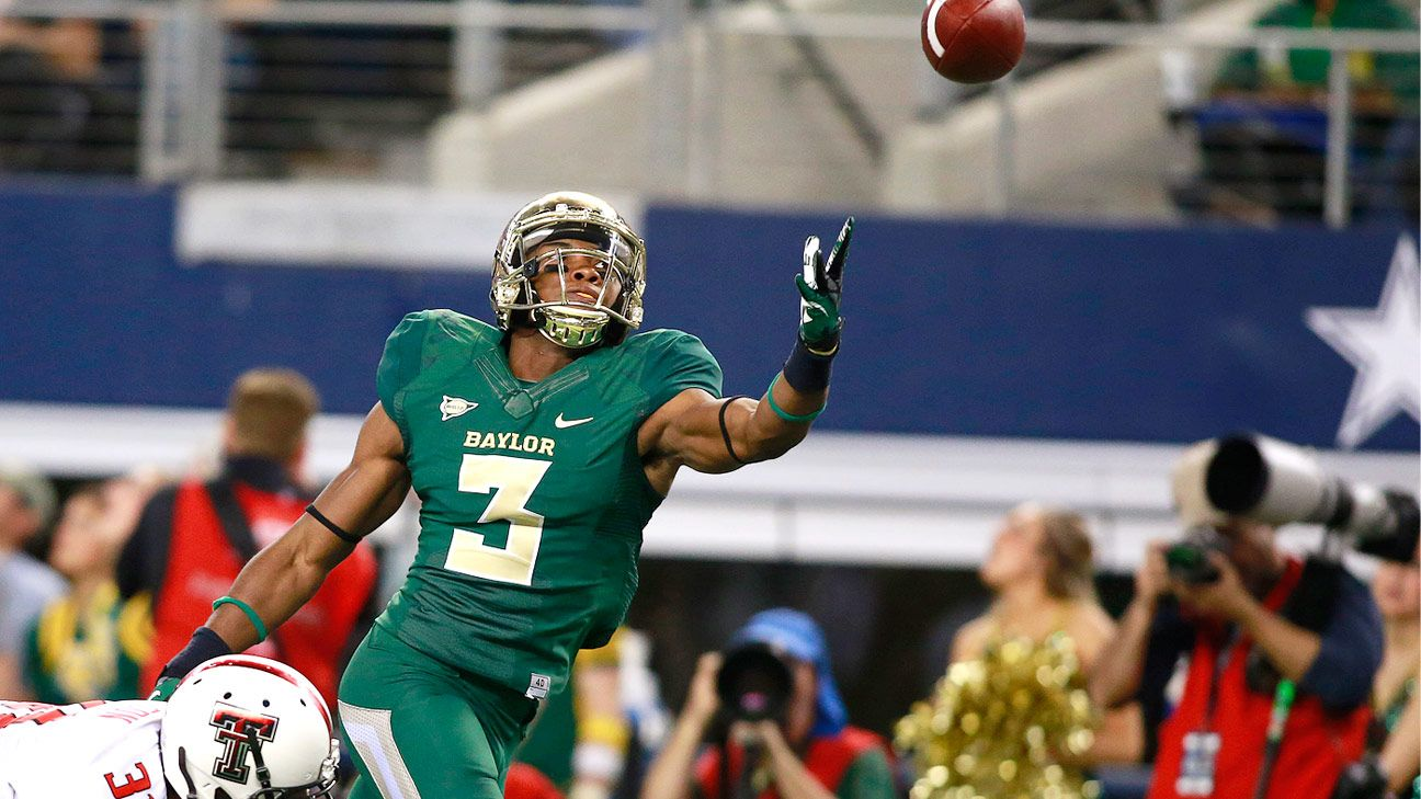 Former Baylor Bears receiver Robbie Rhodes transferring to Bowling Green Falcons