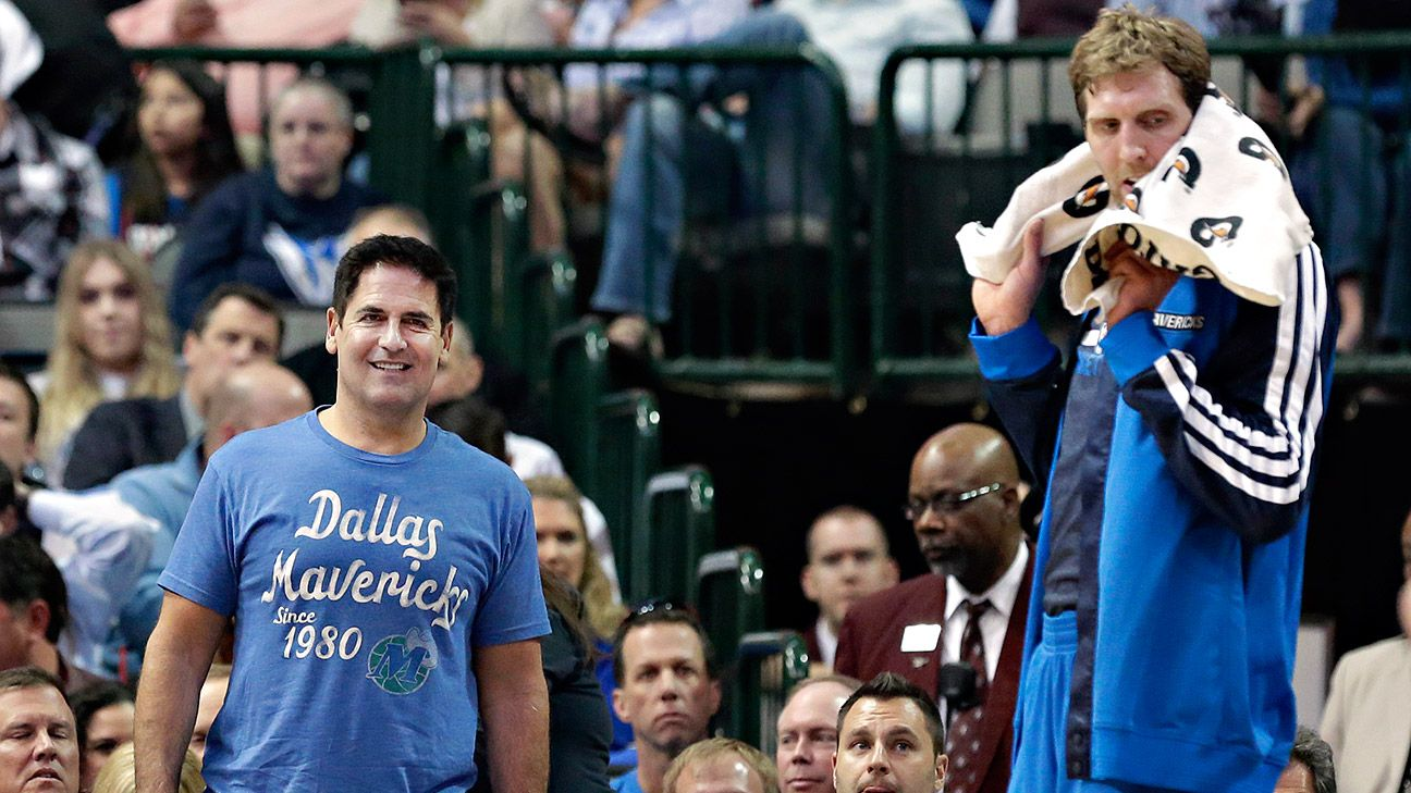 Image result for mark cuban dirk nowitzki