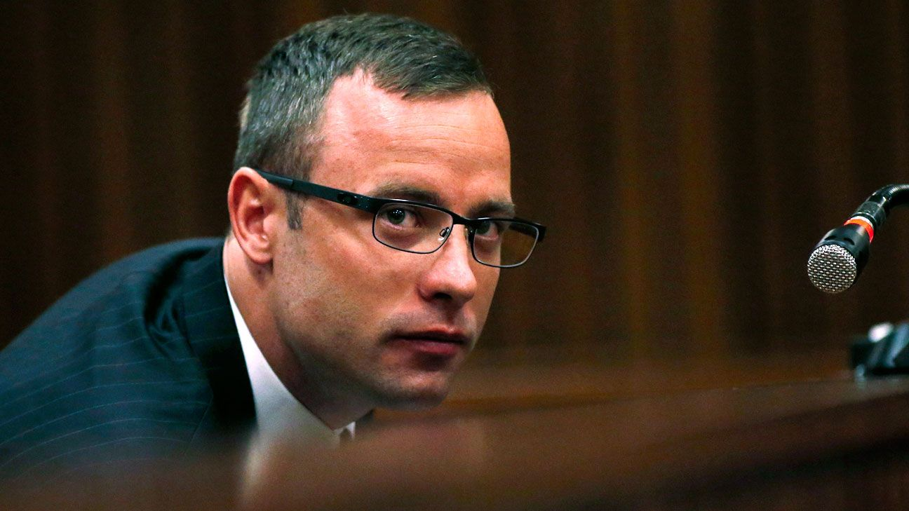 pistorius trial As oscar pistorius is led down to the holding cell, he says good bye to his aunt and uncleap.