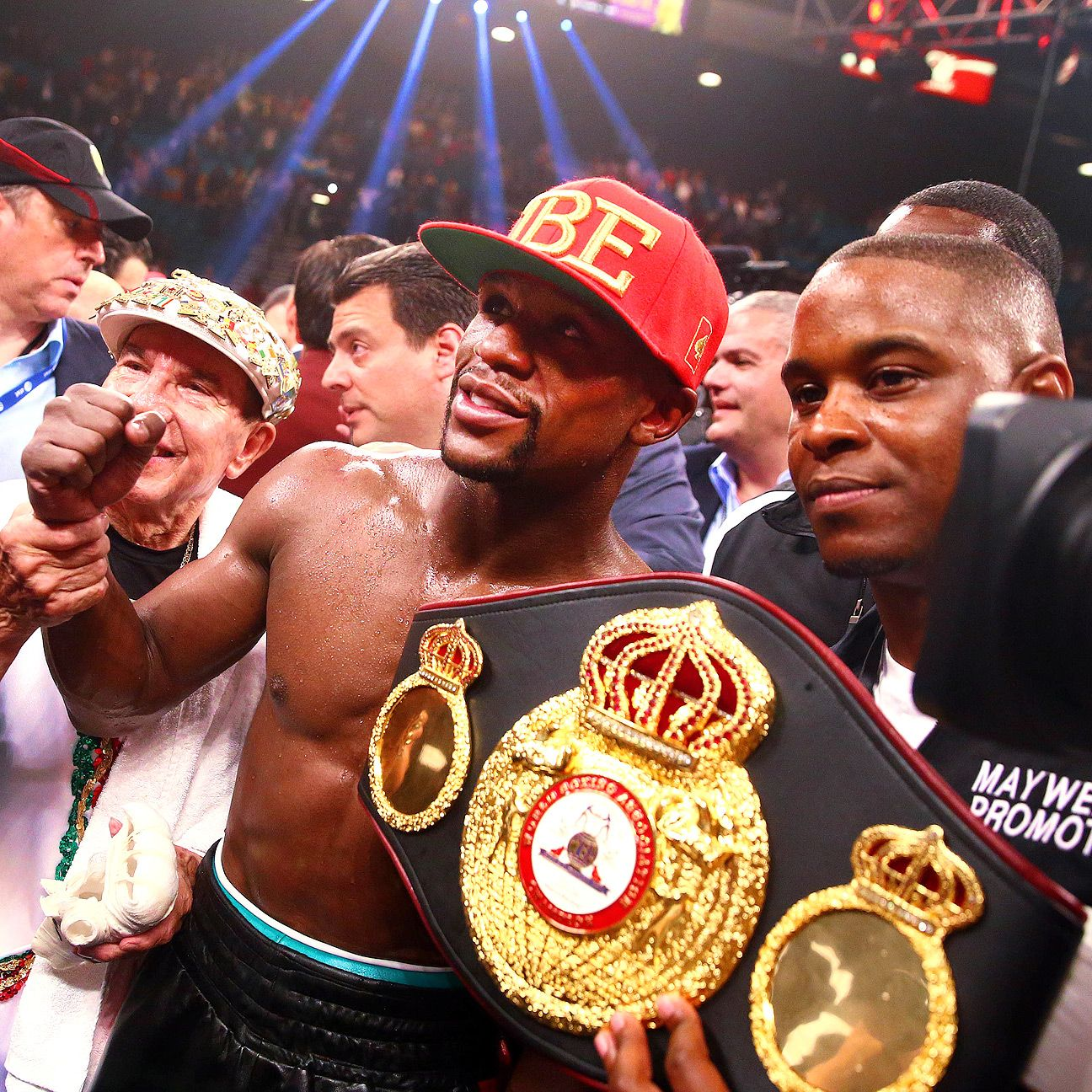 Floyd MAyweather Jr. Andre Berto disappoint boxing