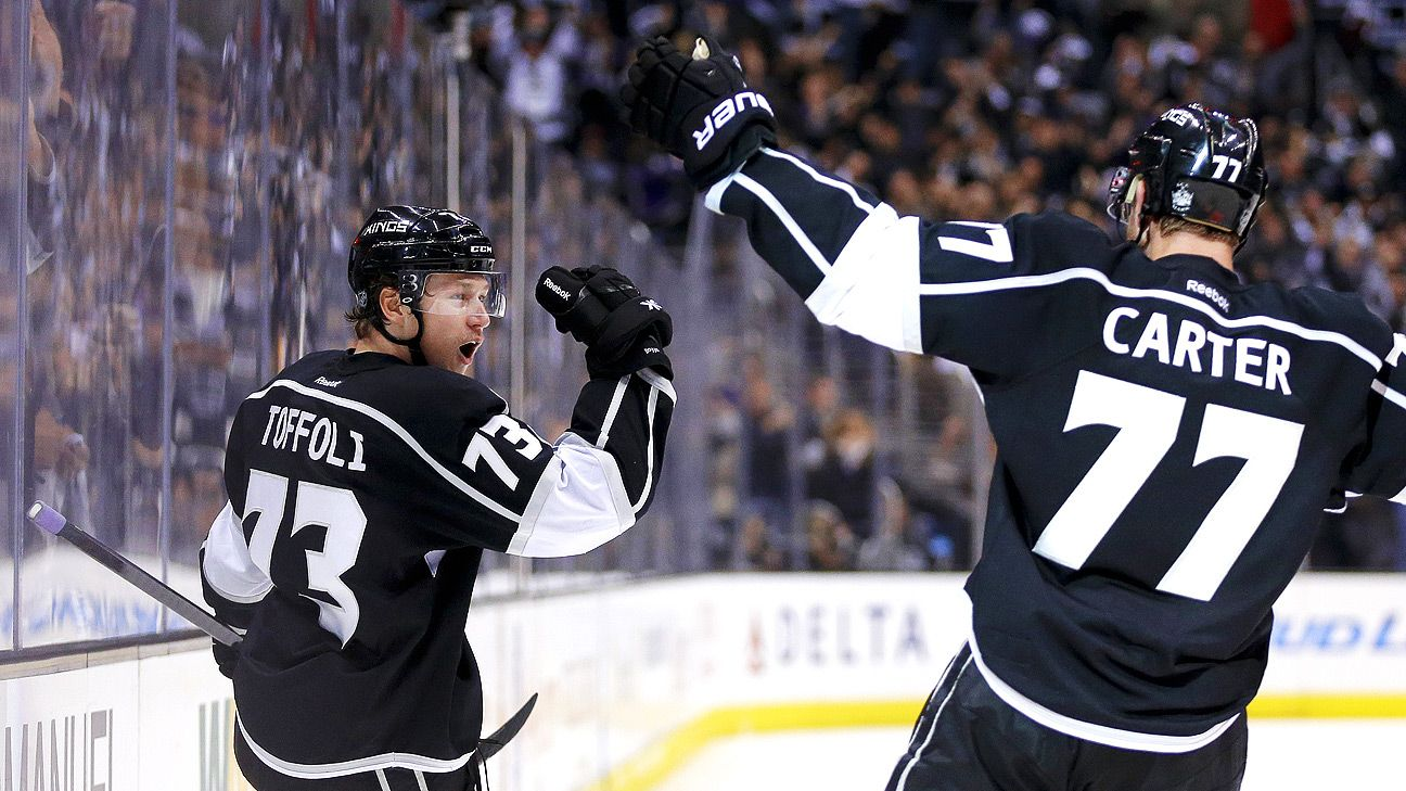 Carter's 'old goat' role carrying Kings