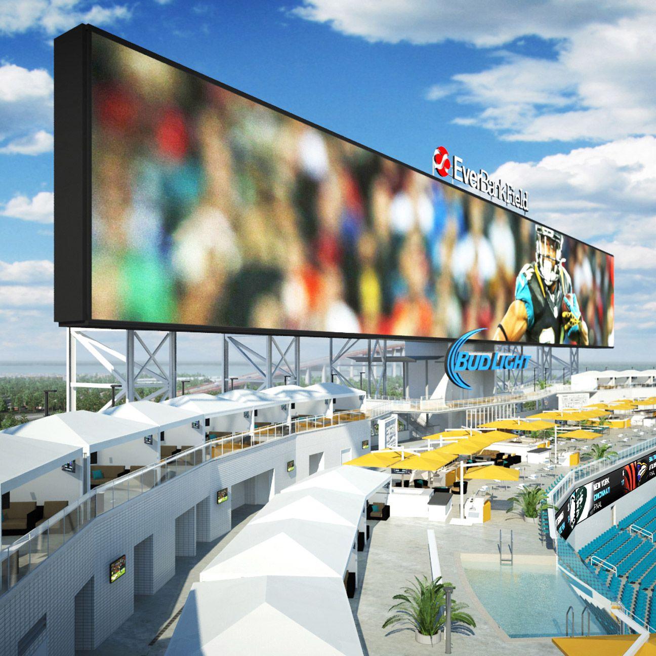 Jacksonville Jaguars To Have Poolside Cabanas In Stadium