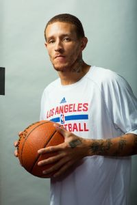 Delonte West, going for it again