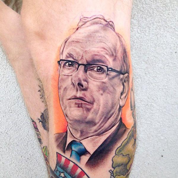 Syracuse Orange Fan Has Image Of Jim Boeheim Tattooed On His Leg