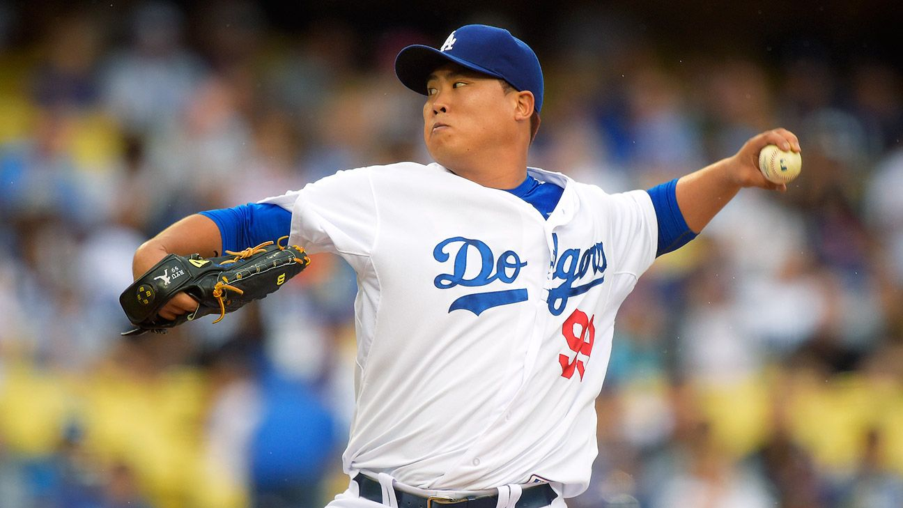 Hyun-Jin Ryu of Los Angeles Dodgers activated from ...