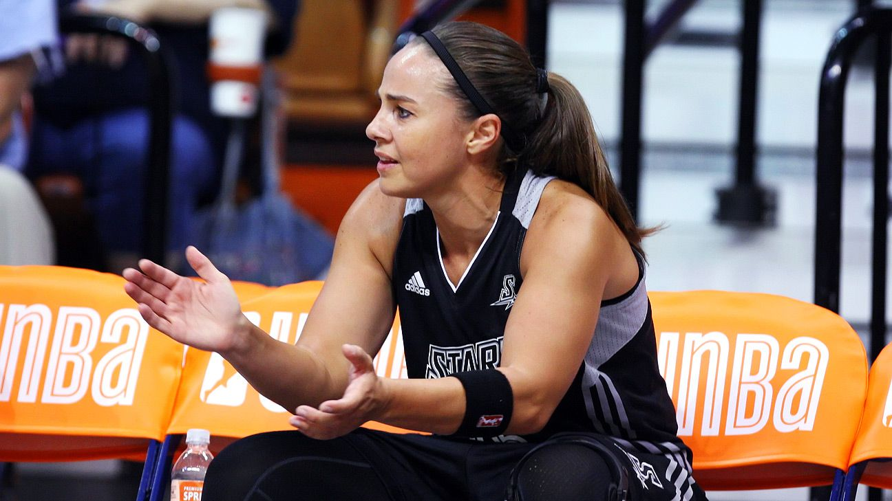 Becky Hammon hired to Spurs' staff