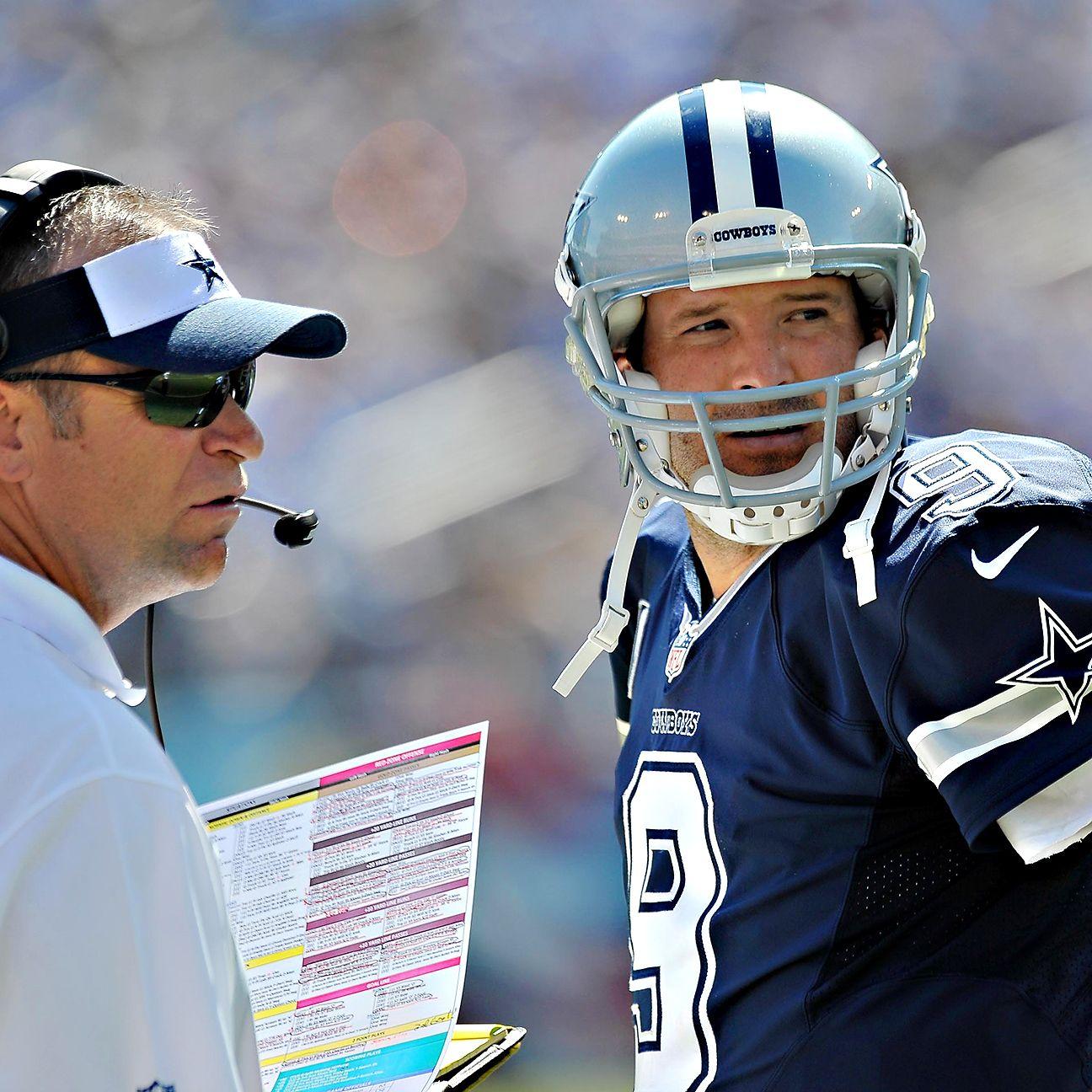 Jason Pierre Paul Stats: Dallas Cowboys QB Tony Romo And OC Scott Linehan In Year 2