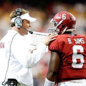 Blake Sims and Lane Kiffin bonded as coach, recruit