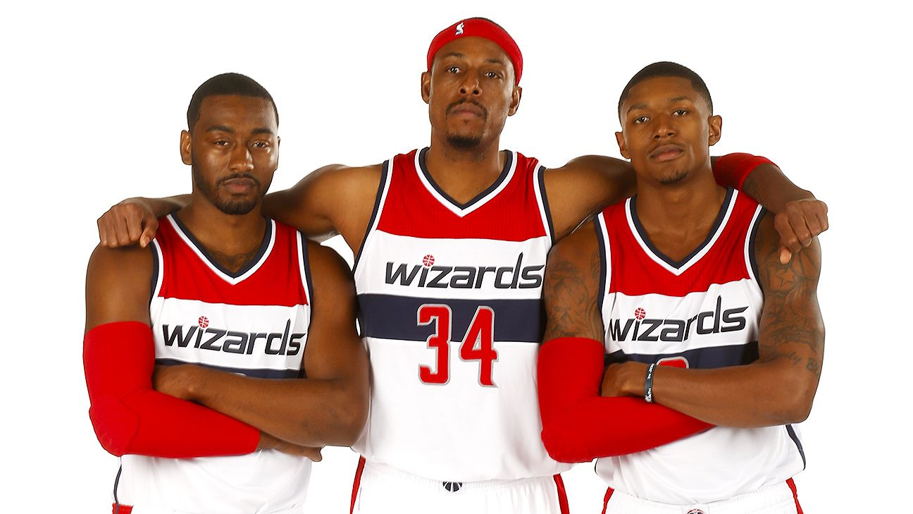Image result for bradley beal, john wall, paul pierce