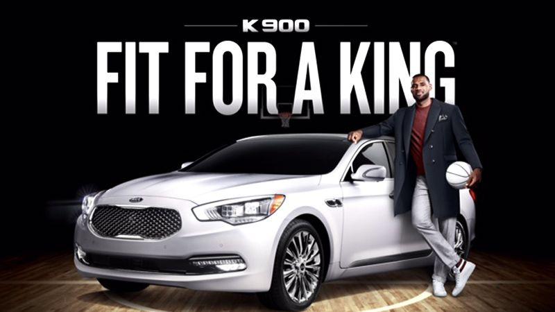 Kia turns to LeBron for brand bump