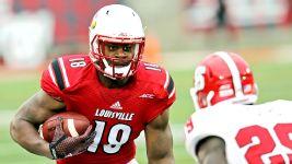 Wholesale NFL Jerseys cheap - Mr. Irrelevant TE Gerald Christian of Louisville Cardinals picked ...