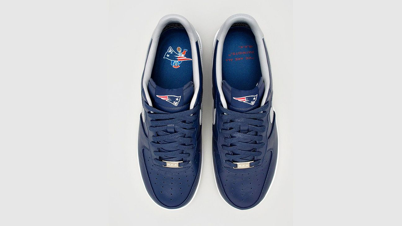 Patriots owner Robert Kraft's Nikes on sale Monday