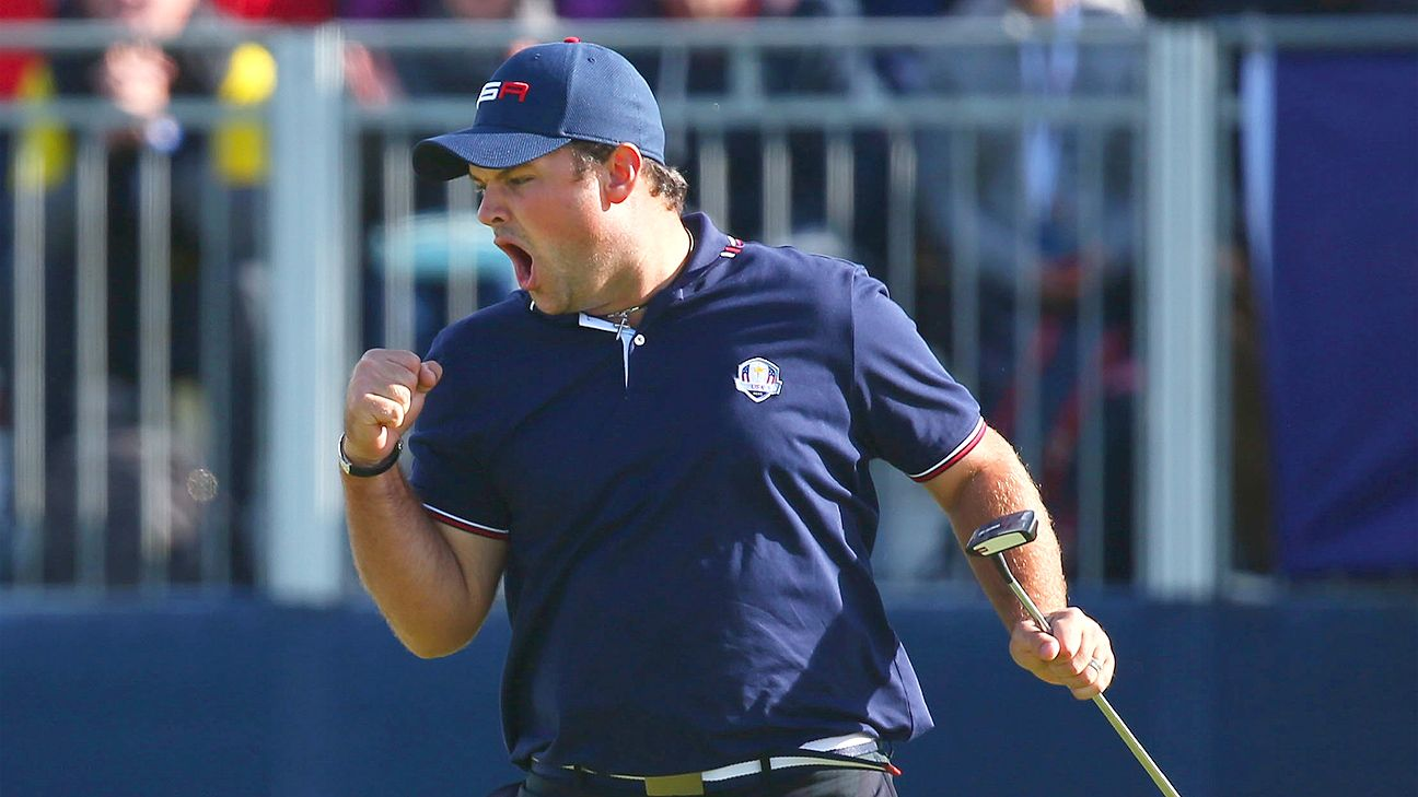 American Ryder Cup Star Patrick Reed Pulls Out Of Bmw Pga