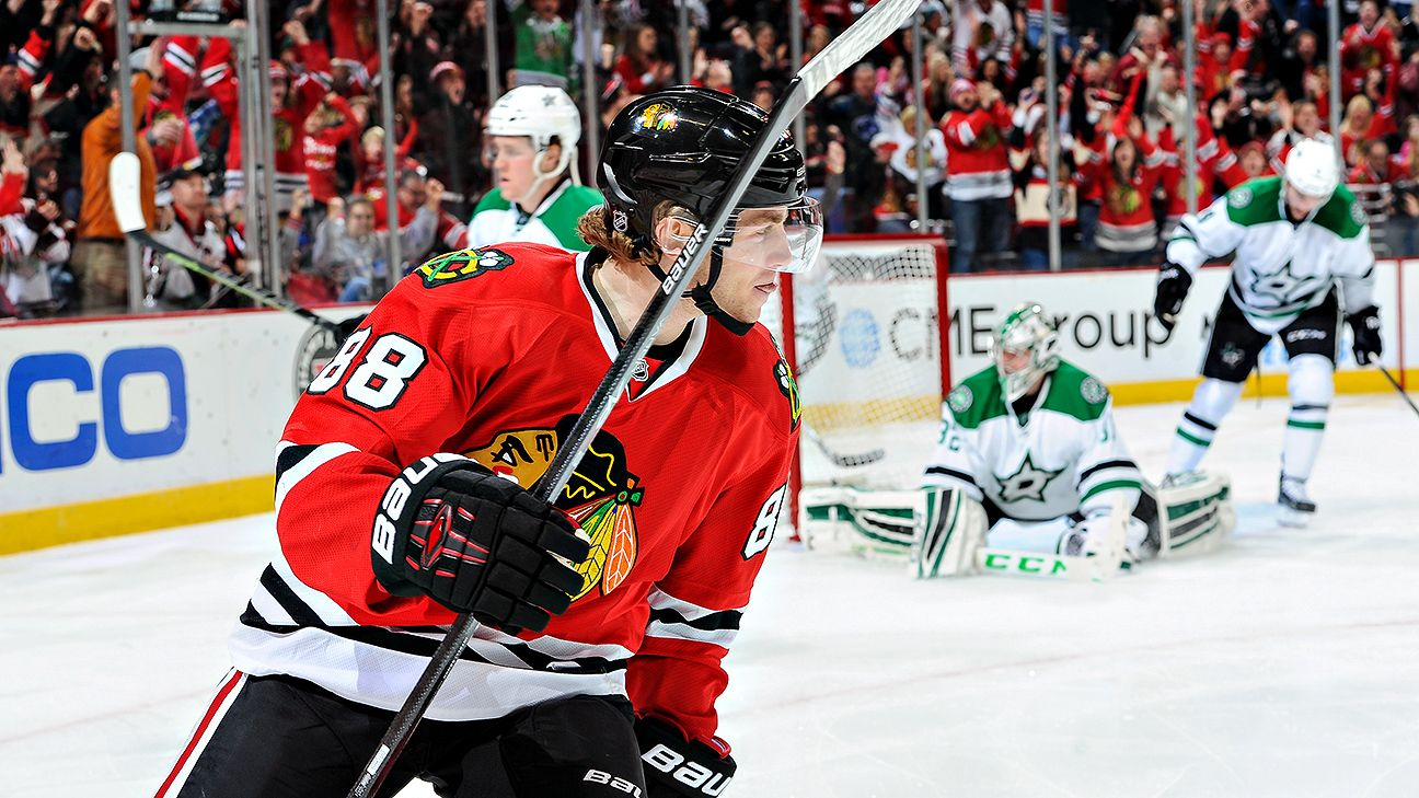 Patrick Kane makes big jump in updated GVT rankings for 2014-15 - NHL