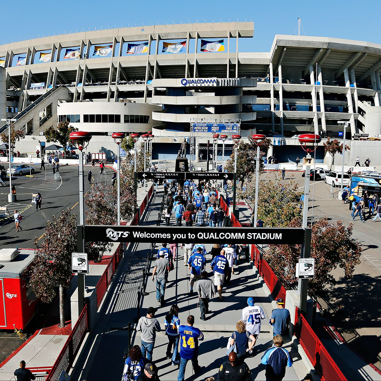 San Diego Chargers Attendance: Stadium Proposal For San Diego Chargers, Oakland Raiders