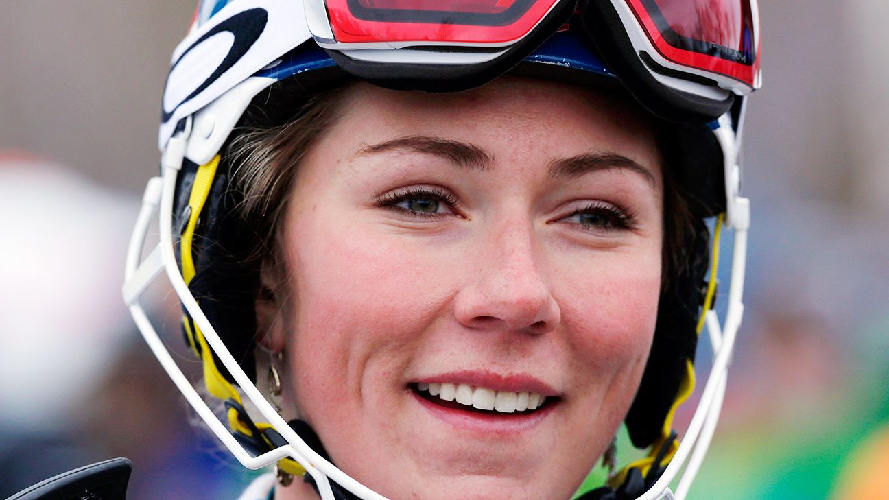 Shiffrin races to 1st World Cup downhill victory